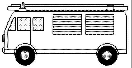 malvorlage: malvorlage-Feuerwehrauto-3