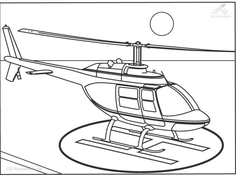 1001 Malvorlagen Fahrzeuge Hubschrauber Malvorlage Hubschrauber