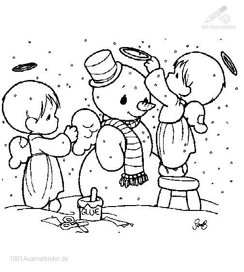 Schneemann Machen