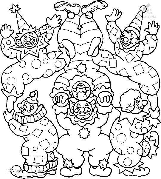 malvorlage: malvorlage-clown-18