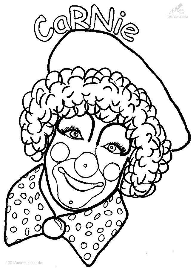malvorlage: malvorlage-clown-2