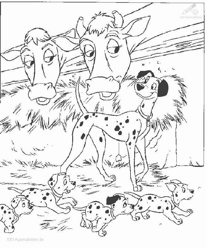 Dalmatiner Malvorlage
