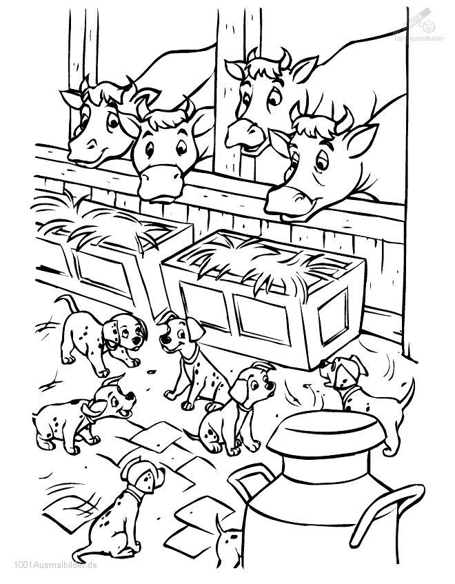malvorlage: malvorlage-dalmatiner-5