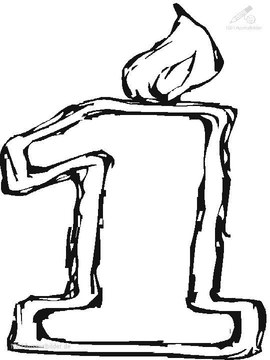 malvorlage: malvorlage-der-zahl-1