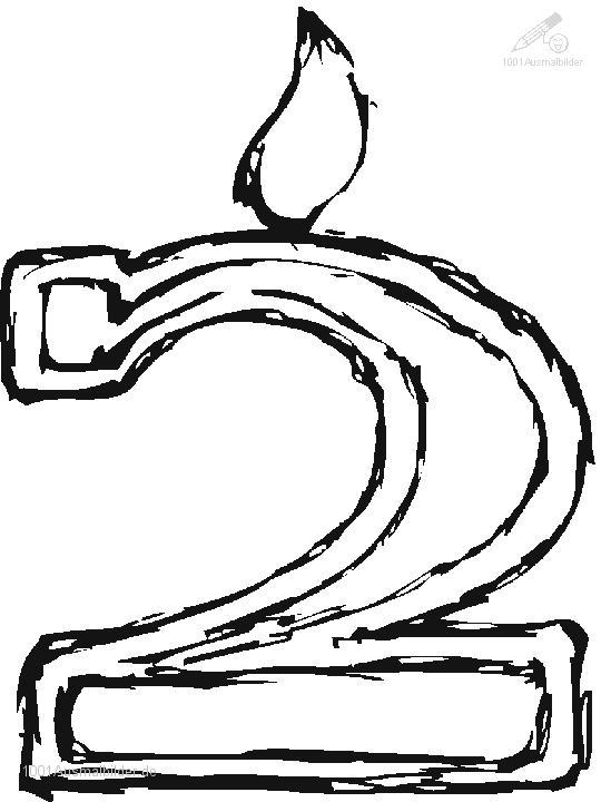 malvorlage: malvorlage-der-zahl-2