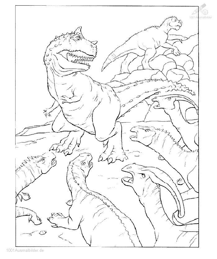 malvorlage: malvorlage-dinosaurier-1