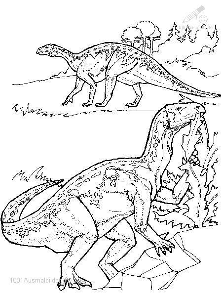 Dinosaurier Malvorlage