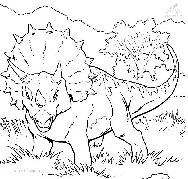 malvorlage: malvorlage-dinosaurier-22