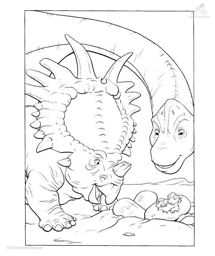 malvorlage: malvorlage-dinosaurier-26