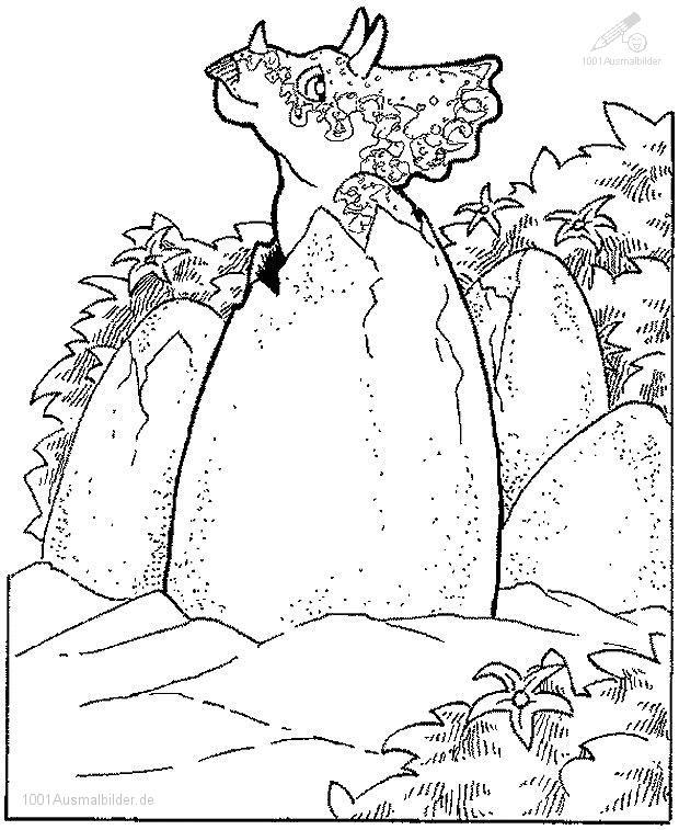 malvorlage: malvorlage-dinosaurier-7