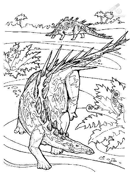 malvorlage: malvorlage-dinosaurier-9