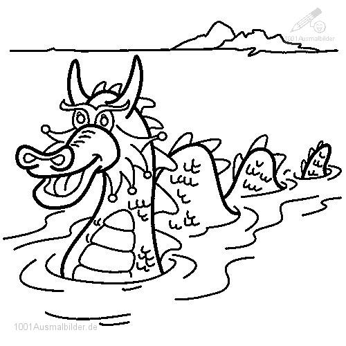 leviathan coloring pages - photo#31