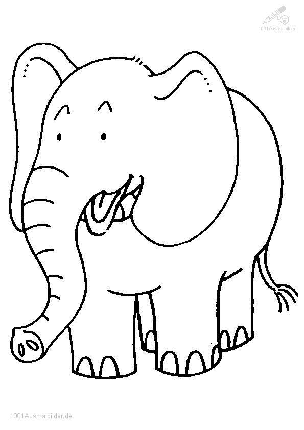 malvorlage: malvorlage-elefant-14