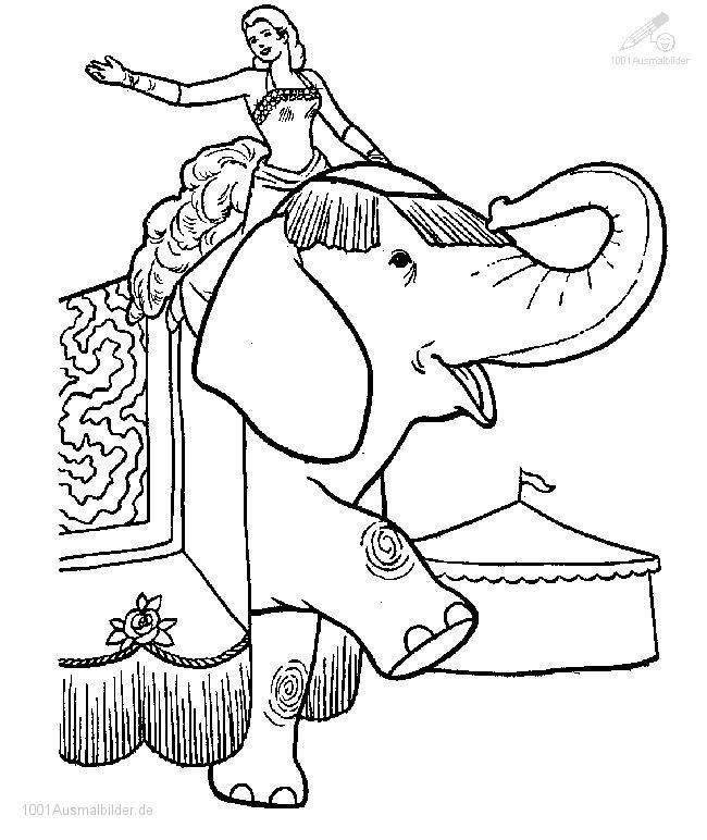 malvorlage: malvorlage-elefant-19