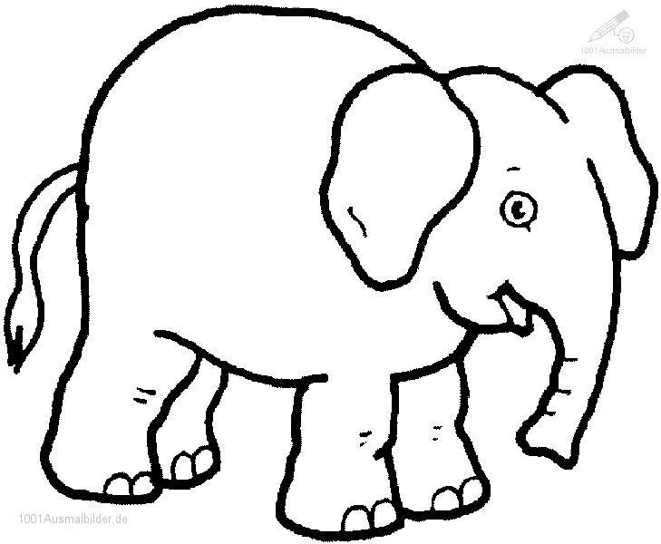 malvorlage: malvorlage-elefant-20