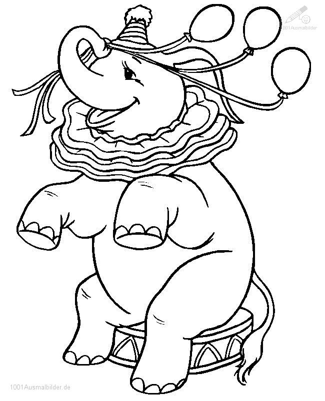malvorlage: malvorlage-elefant-3
