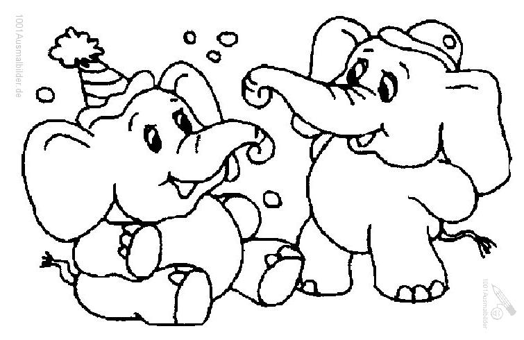 malvorlage: malvorlage-elefant-8
