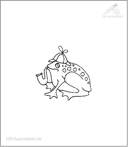 malvorlage: malvorlage-frosch-1
