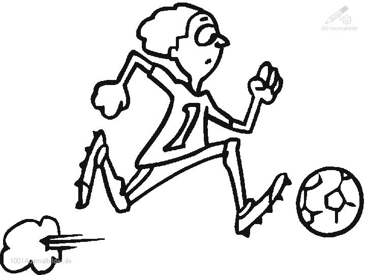 1001 Malvorlagen Sport Fussball Fussball Malvorlage