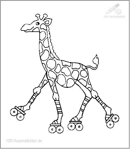 malvorlage: malvorlage-giraffe-1