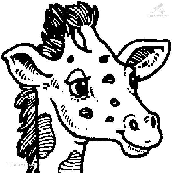 malvorlage: malvorlage-giraffe-19