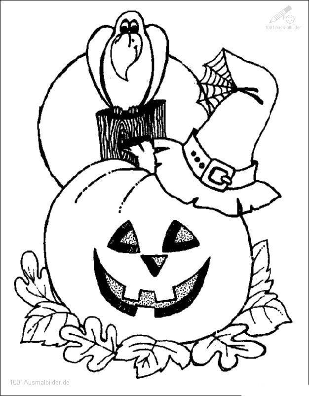 Halloween Malvorlage