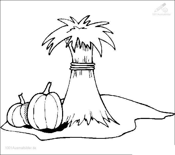 Malvorlage Herbst