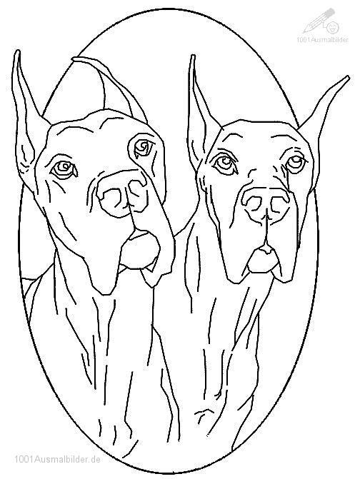 Malvorlage Bulldogs