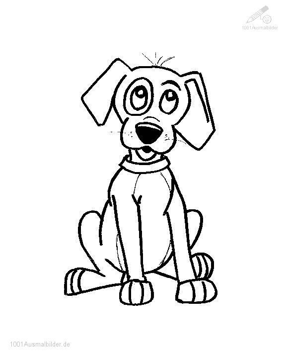 malvorlage: malvorlage-hund-8
