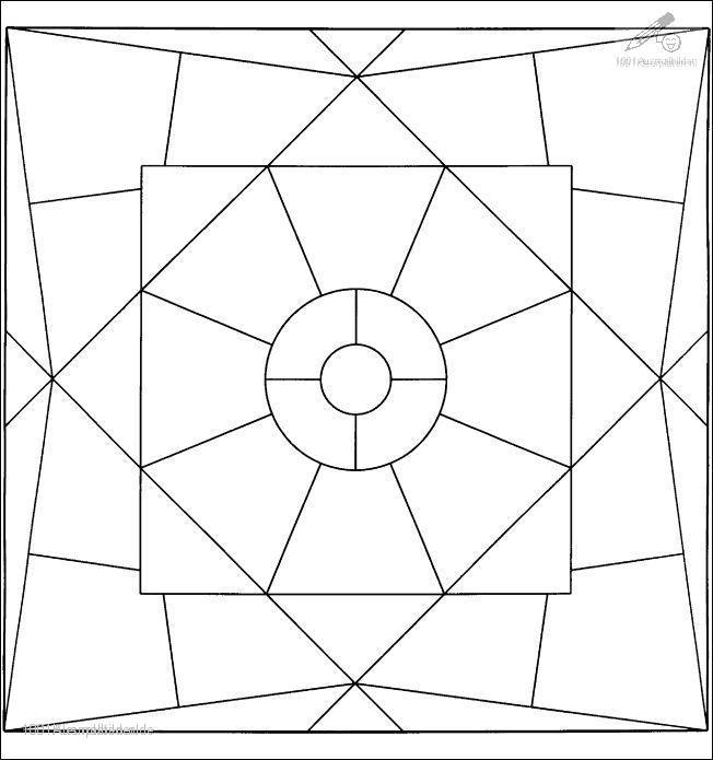 Mandala Malvorlage