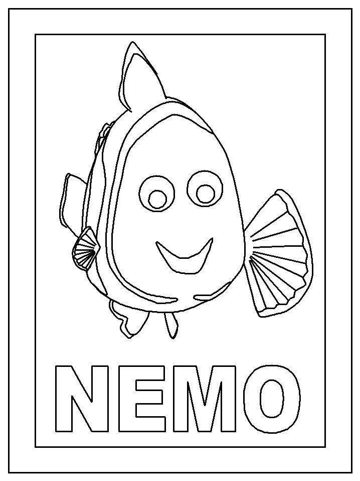 Malvorlage Nemo