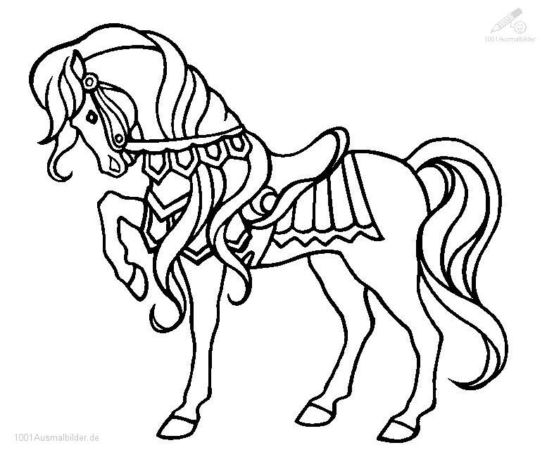 Tiere gt gt pferde gt gt malvorlage pferd