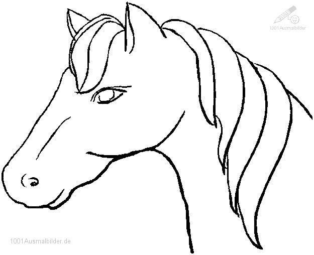 malvorlage: malvorlage-pferd-3