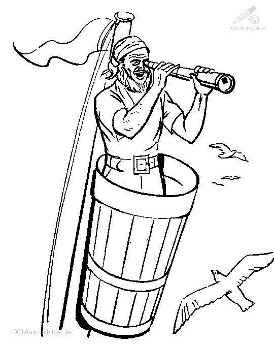 Pirate Malvorlage