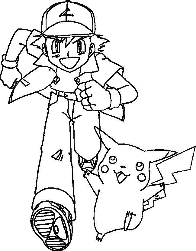 Malvorlage Pokemon