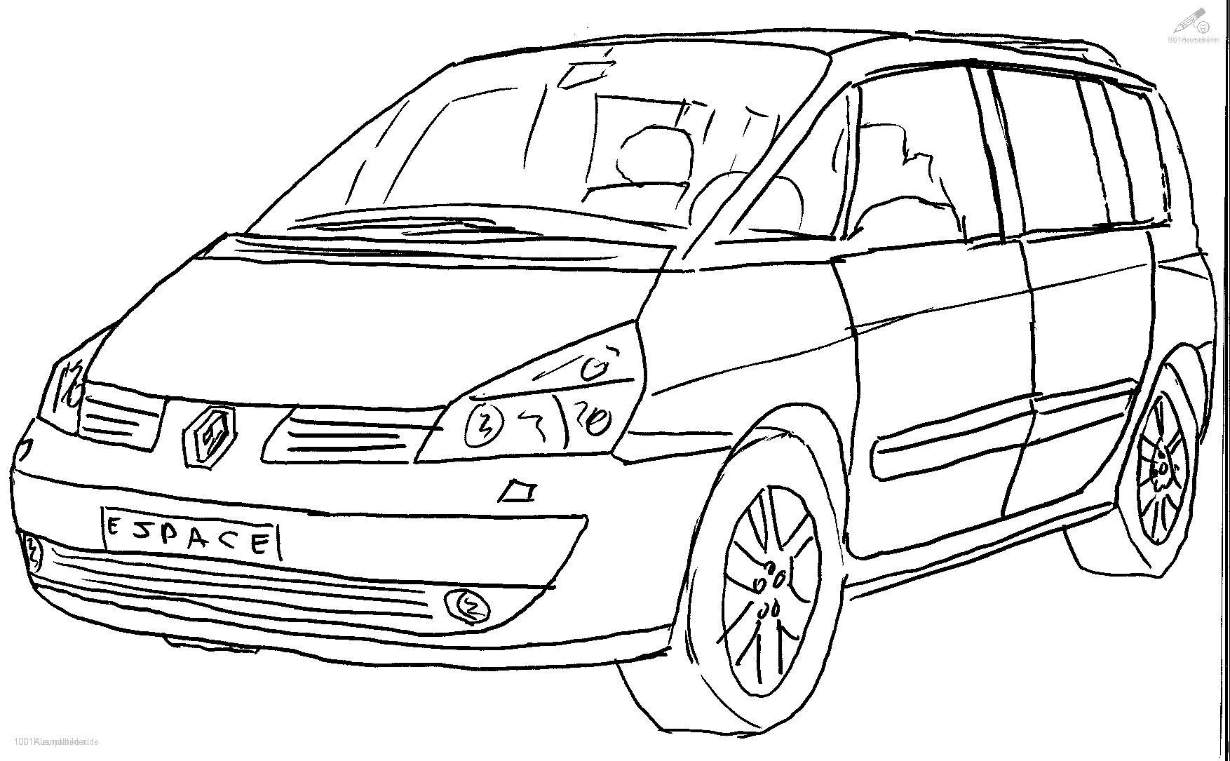 Malvorlage Renault