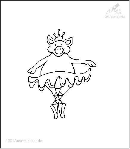 Tanzende Schwein