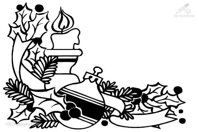 malvorlage: malvorlage-weihnachts-kerze-1