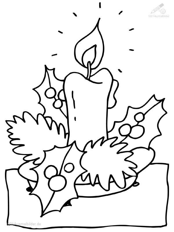 malvorlage: malvorlage-weihnachts-kerze-2