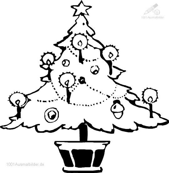 malvorlage: malvorlage-weihnachtsbaum-17