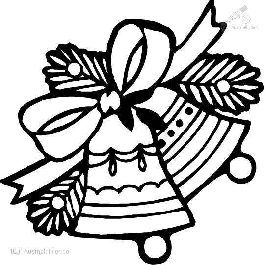 malvorlage: malvorlage-weihnachtsglocke-5