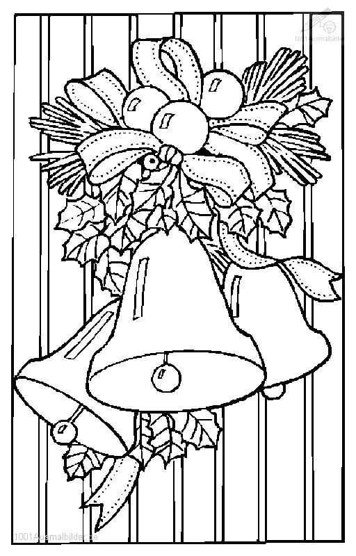 1001 Malvorlagen Weihnachten Glocke Malvorlage Weihnachts Glocke