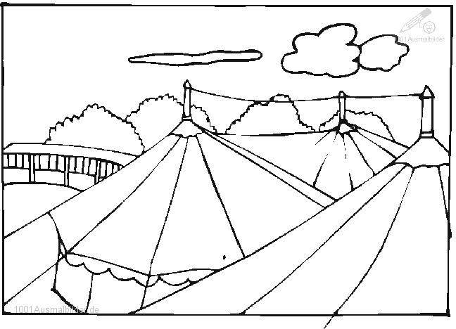 malvorlage: malvorlage-zirkuszelt-2