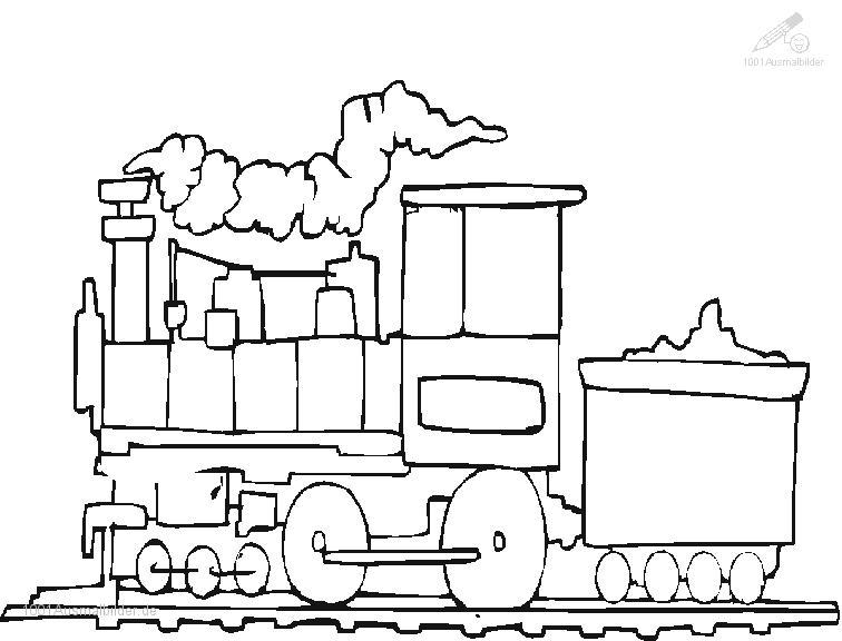 1001 Malvorlagen Fahrzeuge Zug Malvorlage Zug