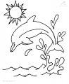 Delphin Malvorlage>> Delphin Malvorlage