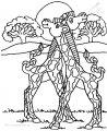 Malvorlage Giraffe>> Malvorlage Giraffe