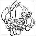 Herbst Malvorlage