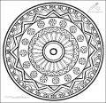 Mandala Malvorlage >> Mandala Malvorlage