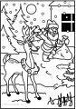 Malvorlage Rentier Rudolph >> Malvorlage Rentier Rudolph