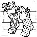 Malvorlage Weihnachts socke >> Malvorlage Weihnachts socke